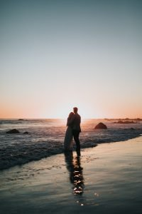 sunset travel italy happy couple
